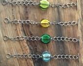 Sea Glass Link Bracelet