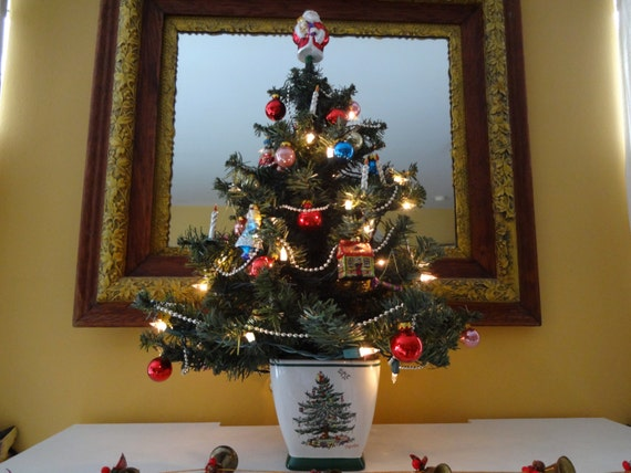 Spode Christmas Tree Spode Holiday Centerpiece Spode