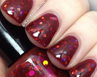 Blood Lust handcrafted artisan nail polish