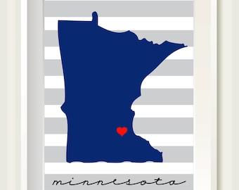 State Love Print