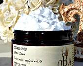 CHOOSE SCENT  Shaving Cream - Unisex - Luxurious Creamy Texture - with Aloe & Lanolin