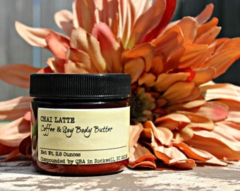 Coffee House - Coffee Soy Body Butter - Vegan Caffeine Butter Cream