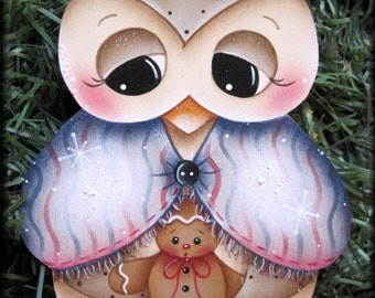 Owl and Little Ginger Painting E-Pattern