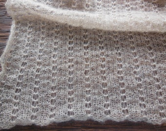 Lace mohair wrap Newborn photo prop Stretch Lace Wrap