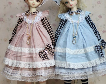 Afternoon tea -- One off dress set for SD girl BJD