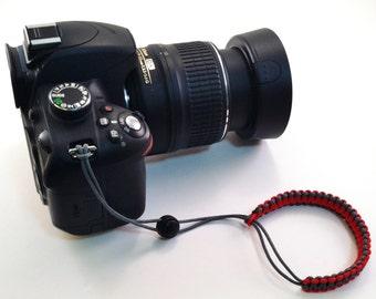Camera lanyard, Paracord Lanyard, Wrist Lanyard, Camera Leash, Camera Accessory, Camera Strap