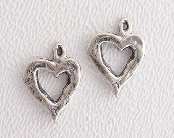 ONE Small Open Heart Charm
