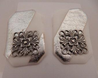 Lightweight Friendly Plastic Earrings