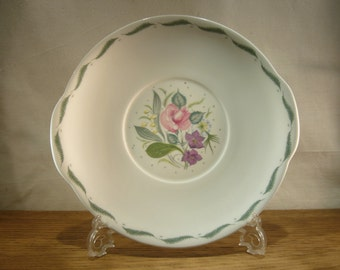 "Vintage 1950s Susie Cooper ""Fragrance"" bread and butter plate or cake plate"