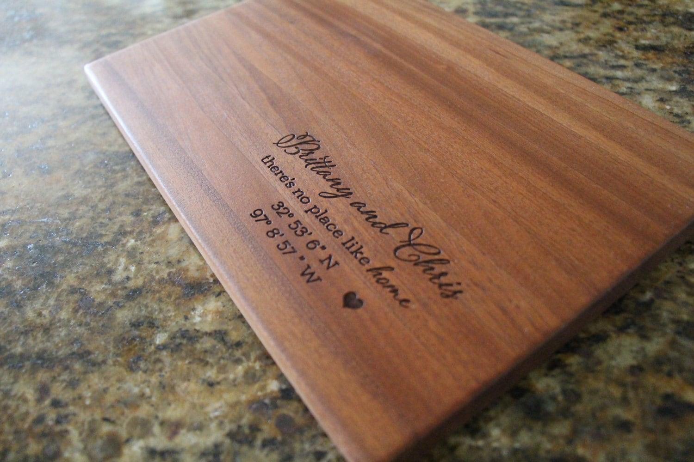Wedding Gift Cutting Board: Wedding Cutting Board Gift Wedding Gift Anniversary Gift