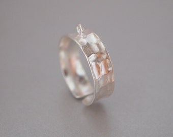 1 PC, Ring, Sterling Silver, Open Ring, Adjustable Ring, DIY Jewelry Supplies