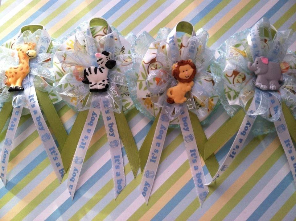 safari animal baby shower theme 12 guest corsage capias