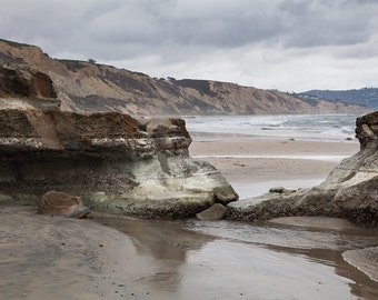 Landscape Photography - Torrey Pines State Park Beach, California -  8x12
