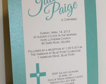 Confirmation Cross Invitation