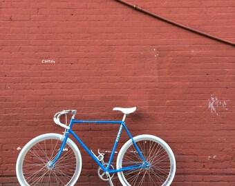 Vintage Schwinn Fixie Bicycle - Flip Flop Hub Fixed Gear Bike