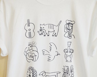 LARGE - Picasso's picassos tshirt