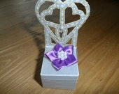 Beautiful handmade parchment craft boxes,  ideal for wedding favours, chocolates, jewellery or small gifts.