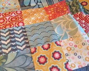 Salt Air tablerunner/wallhanging quilt top 36x36