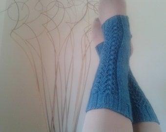 Hand Knit Yoga Socks, Yoga Spatt Handknit, Dancer's Socks, Choose Your Colour