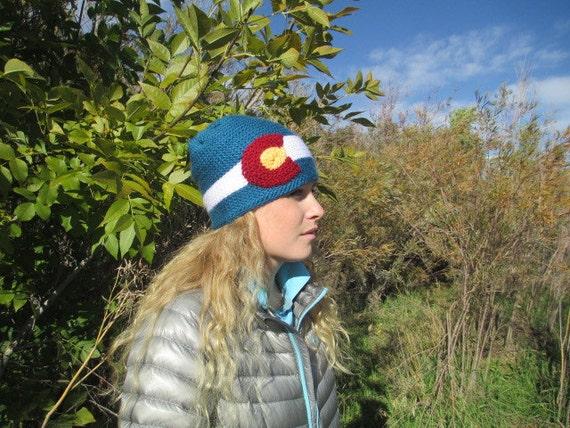 Colorado Flag Beanie