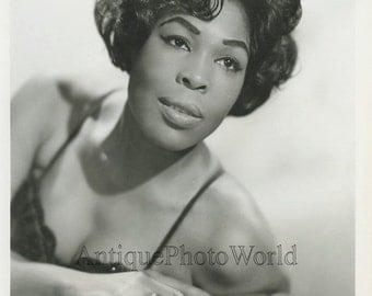 Gloria Lynne jazz singer vintage art music photo