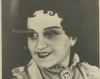 Russian actress Soboleva as Karenina antique photo