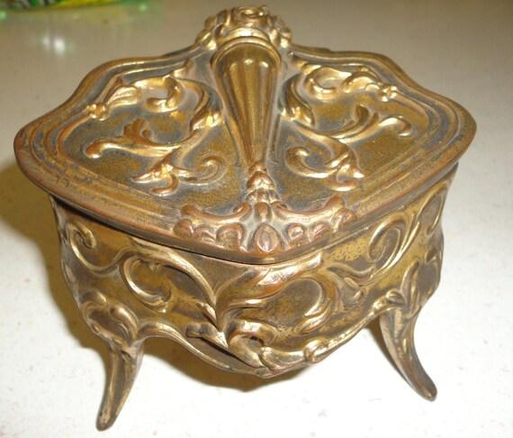 Gold Tone Jewelry Jewelry Casket Gold Tone