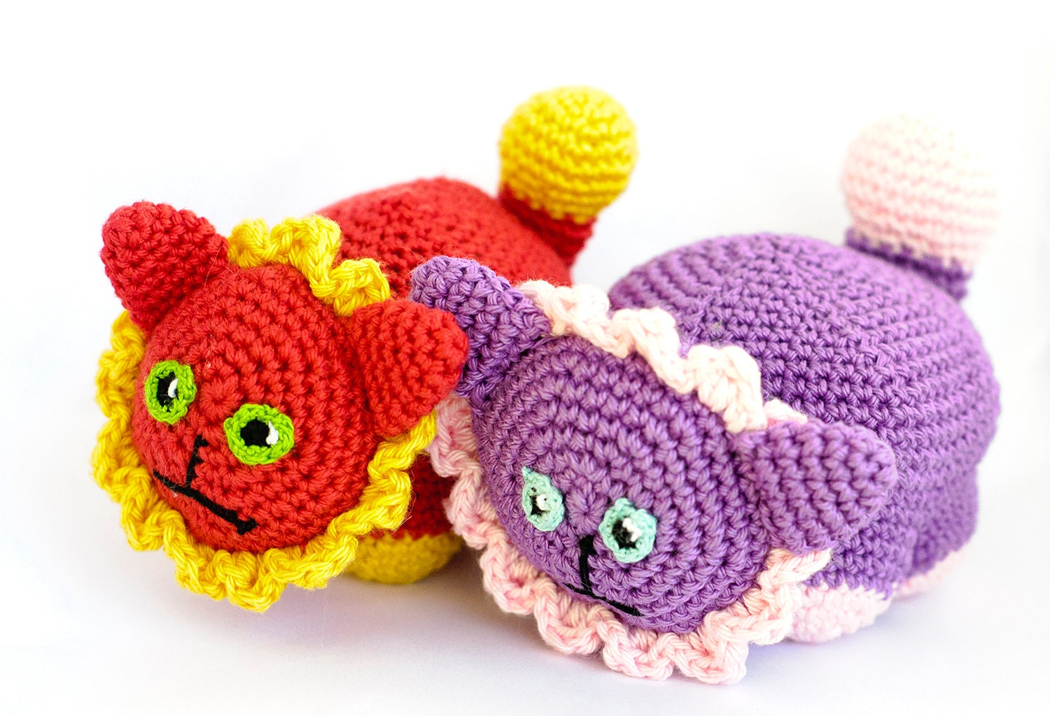 Amigurumi Crochet Pattern Quick Easy Toy Lion Instructions