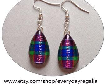 Outlander inspired earrings