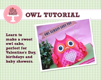 Owl Tutorial by: Royal Bakery