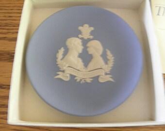 Royal Wedding Wedgewood Plaque 1981