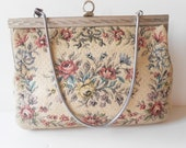 Tapestry Handbag Vintage Walborg Evening Bag from Western Germany MidCentury EB0515 $37.00 AT vintagedancer.com