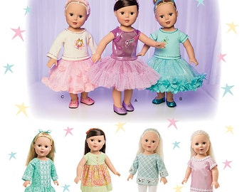 Simplicity 1485 Doll Clothes sewing pattern, 18in.  Doll Clothes pattern