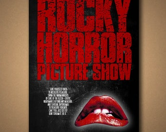 Rocky Horror Picture Show - Movie Quote Poster