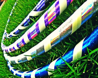 GALAXY GLOW Series Taped Practice Hoop by Colorado Hula Hoops