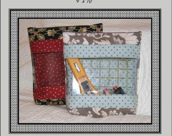 Pattern - Peek-A-Boo Bag Paper Sewing Pattern by Terri Staats for Sweet Treasures (ST-401T)