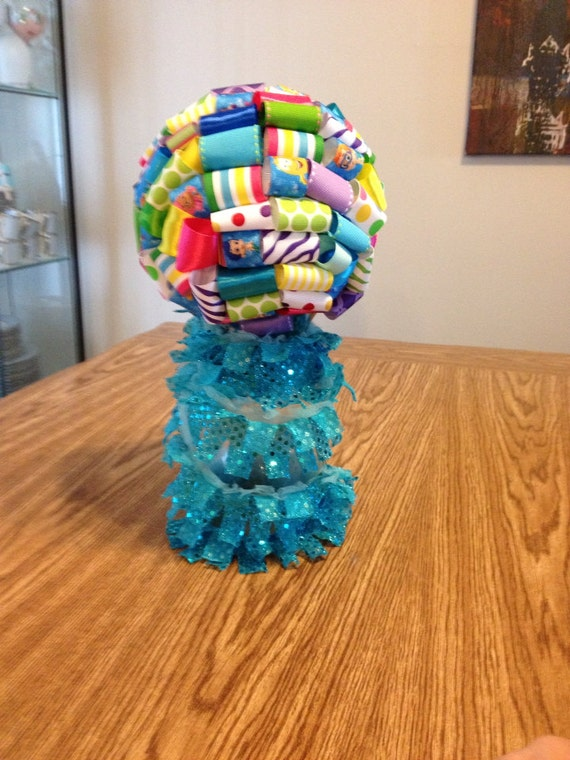 Items similar to bubble guppies centerpiece on etsy - Bubble guppies center pieces ...