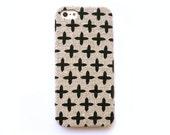 FABRIC - iPhone 5 case, iPhone 4 case, iPhone 4s case, Natural iphone case, Cross iPhone case