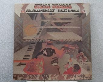 "Stevie Wonders - ""Fulfillingness' First Finale"" vinyl record"