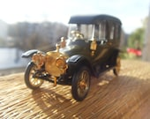 Russobalt C24 35 Limousine 1912 Soviet Vintage Car Model Made in USSR in 1970s.