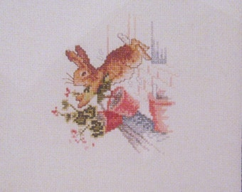 beatrix potter peter rabbit  cross stitch CHART INSTRUCTIONS ONLY lakeland artist new