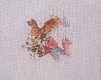 beatrix potter peter rabbit  cross stitch CHART INSTRUCTIONS ONLY lakeland artist new