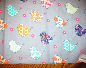 Modern Bird Designer Pillowcase