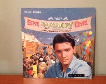 "Elvis ""Roustabout"" vinyl record"