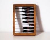 Soviet wooden abacus, Russian Soviet counter, vintage Russian Soviet calculator - SovietMilitary