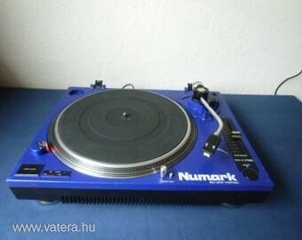 Numark tt 1700  LIMITED EDIÍTION BLUE record player