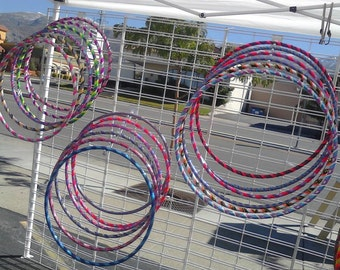 Custom Decorated Small 5-7 year old Taped Kids Hula Hoops