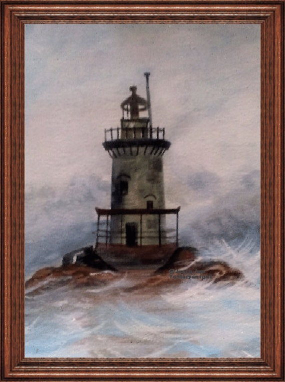 11 X 14 Giclee Fine Art Print  The Light House