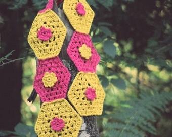 Crochet in Color: Katy's Noro Shawl