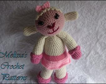 CROCHET PATTERN - Lambie from Doc McStuffins